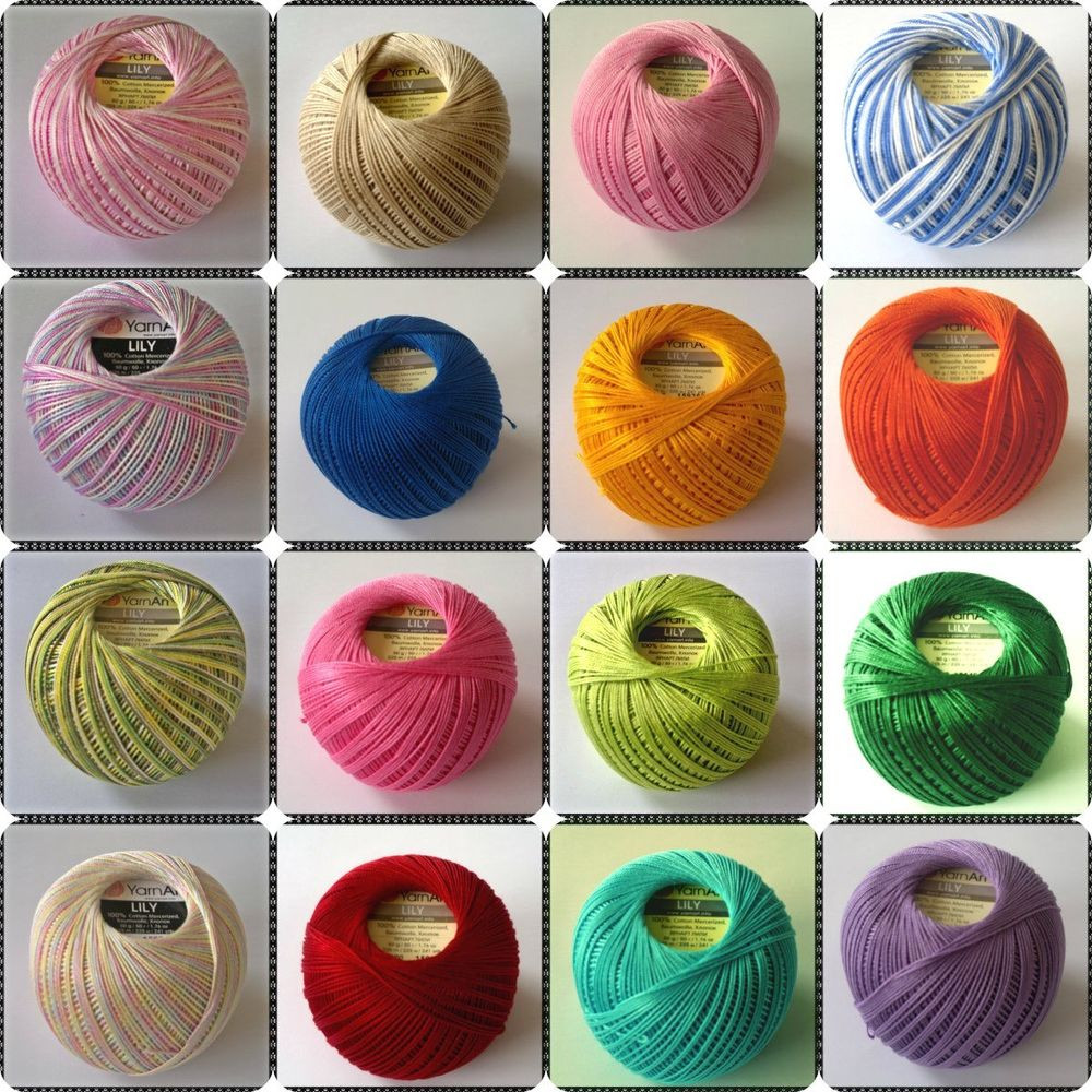 Crochet thread size 10