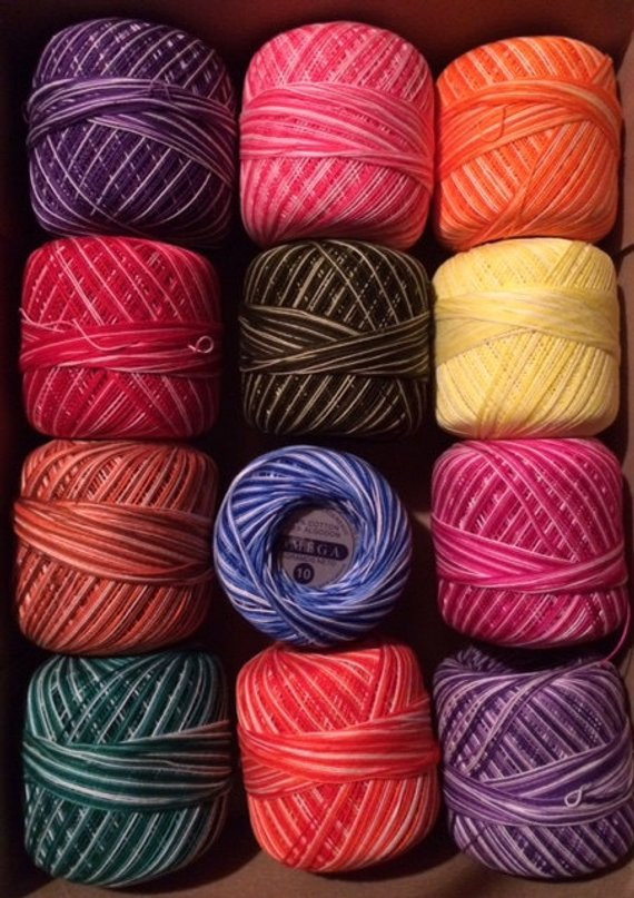 Crochet Threads Size 10 Fresh Omega Cotton Crochet Thread assortment Size 10 20 or 30 Of Top 42 Ideas Crochet Threads Size 10