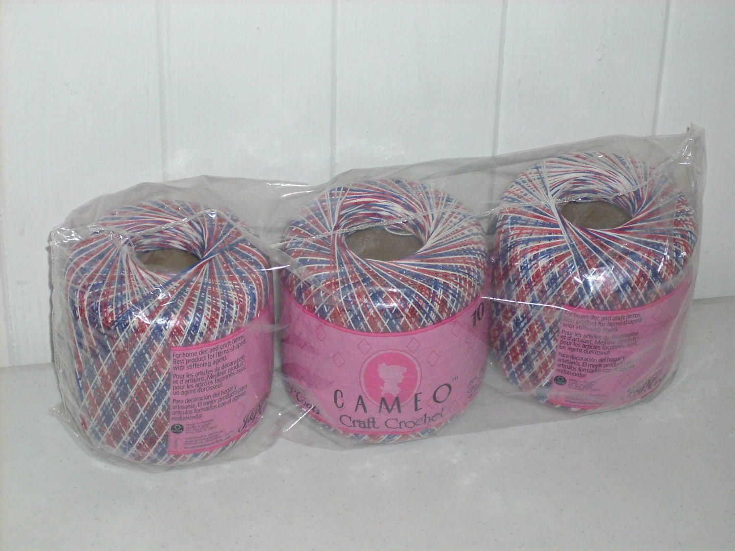 Crochet Threads Size 10 Unique Crochet Thread Size 10 Variegated Red White and Blue by Cameo Of Top 42 Ideas Crochet Threads Size 10