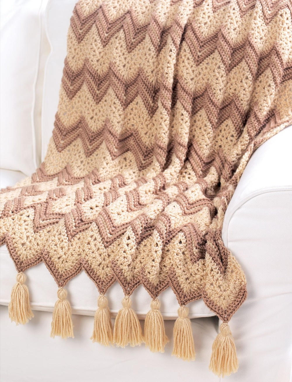 Crochet Throw Beautiful Neutral Ripple Afghan Of Luxury 41 Pics Crochet Throw