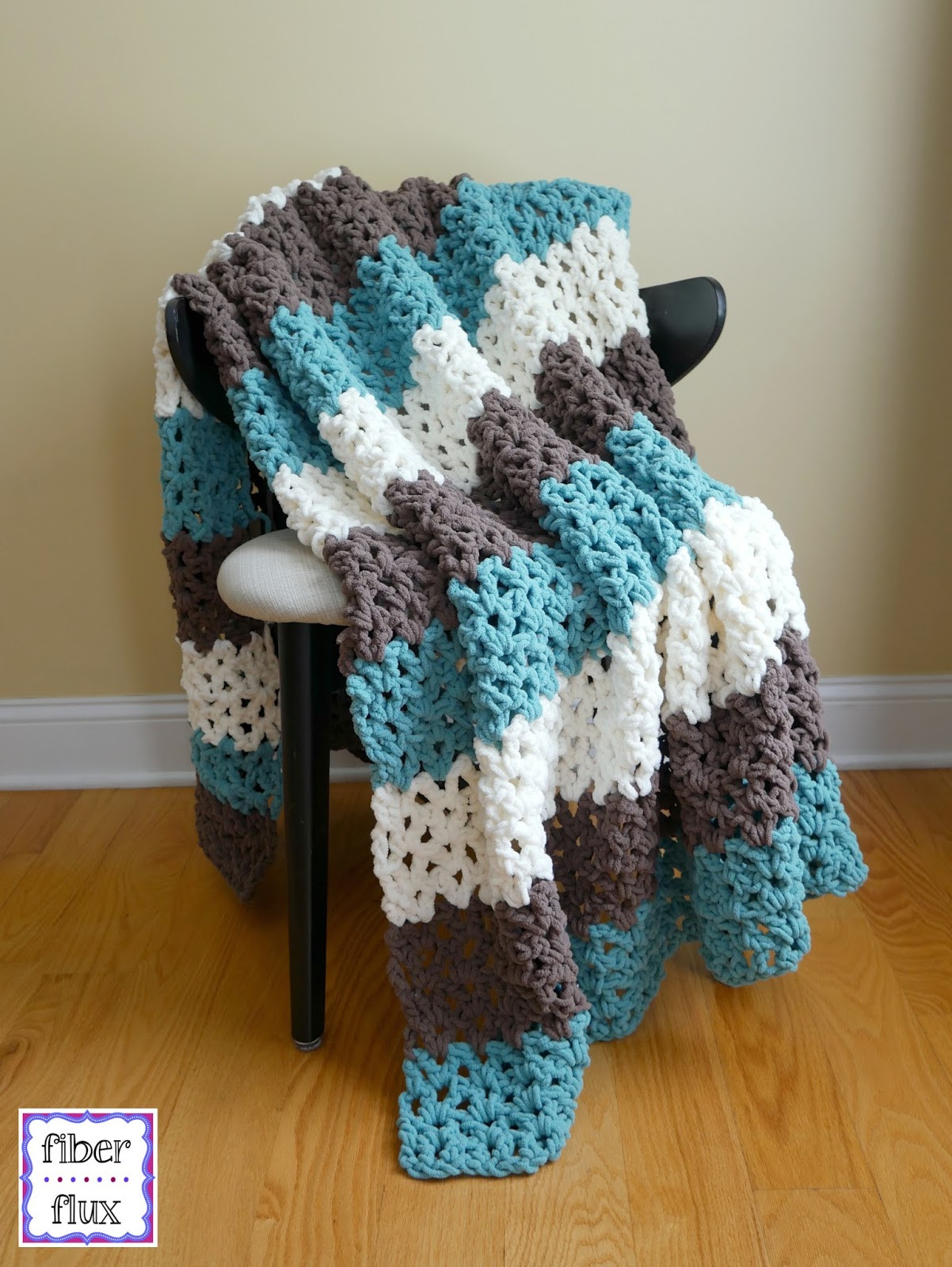 Crochet Throw Blanket Awesome Fiber Flux Free Crochet Pattern Family Room Throw Of Great 44 Pics Crochet Throw Blanket