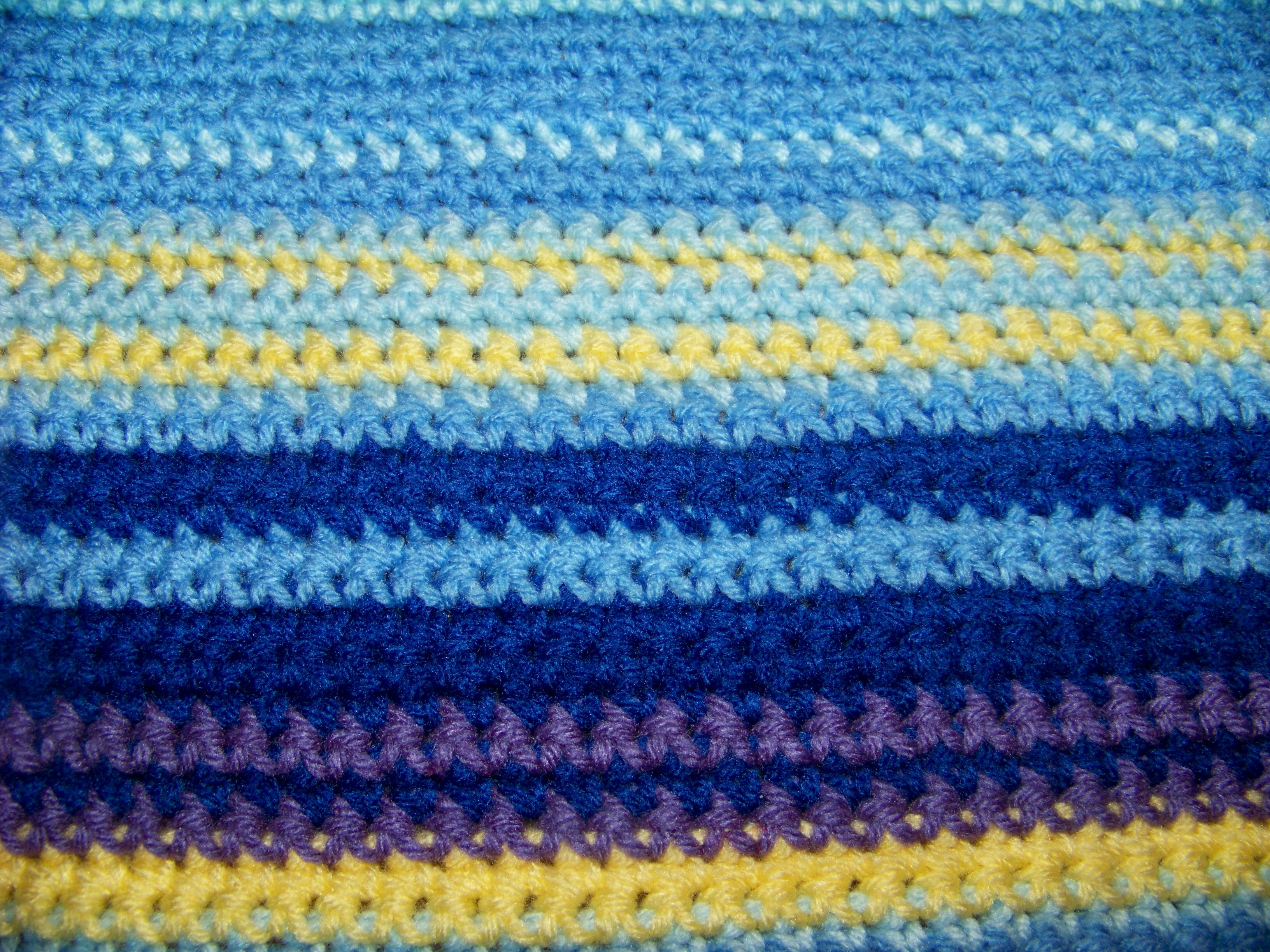 Crochet Throw Blanket Beautiful Crocheted Temperature Blanket Stitching In the Woods Of Great 44 Pics Crochet Throw Blanket