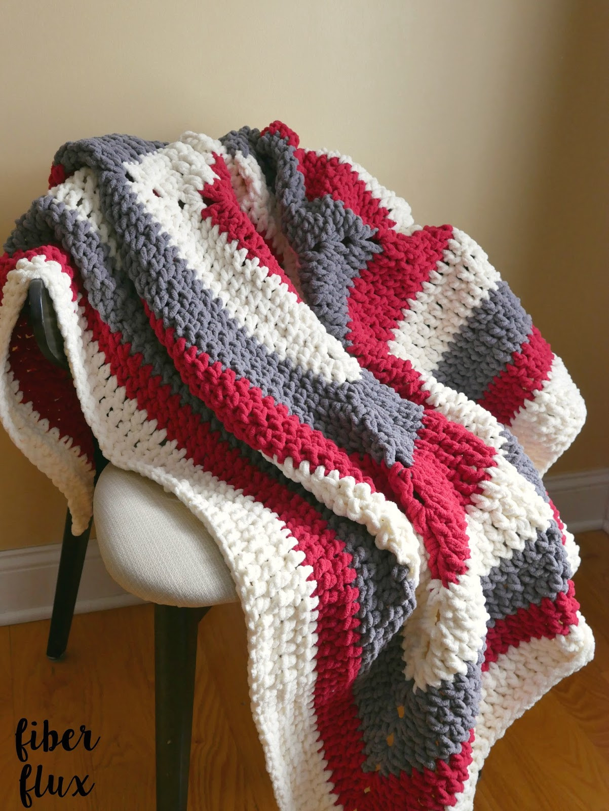 Crochet Throw Blanket Luxury Fiber Flux Free Crochet Pattern Snow Berries Throw Of Great 44 Pics Crochet Throw Blanket