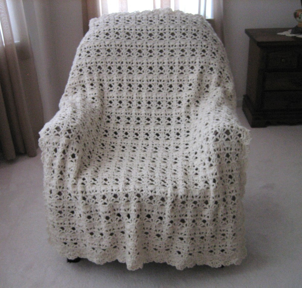 Crochet Throw Blanket Luxury Vintage Lace Crochet Afghan Of Great 44 Pics Crochet Throw Blanket