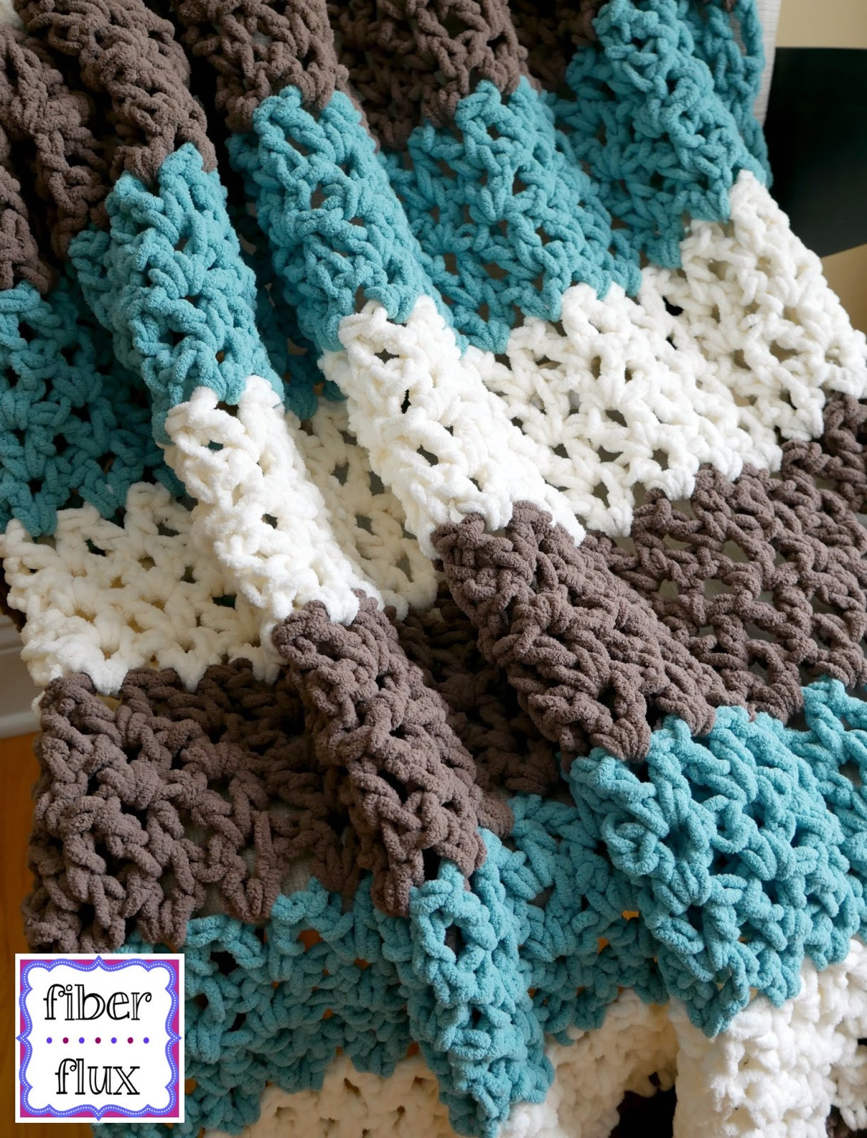 Crochet Throw Blanket Unique Fiber Flux Free Crochet Pattern Family Room Throw Of Great 44 Pics Crochet Throw Blanket