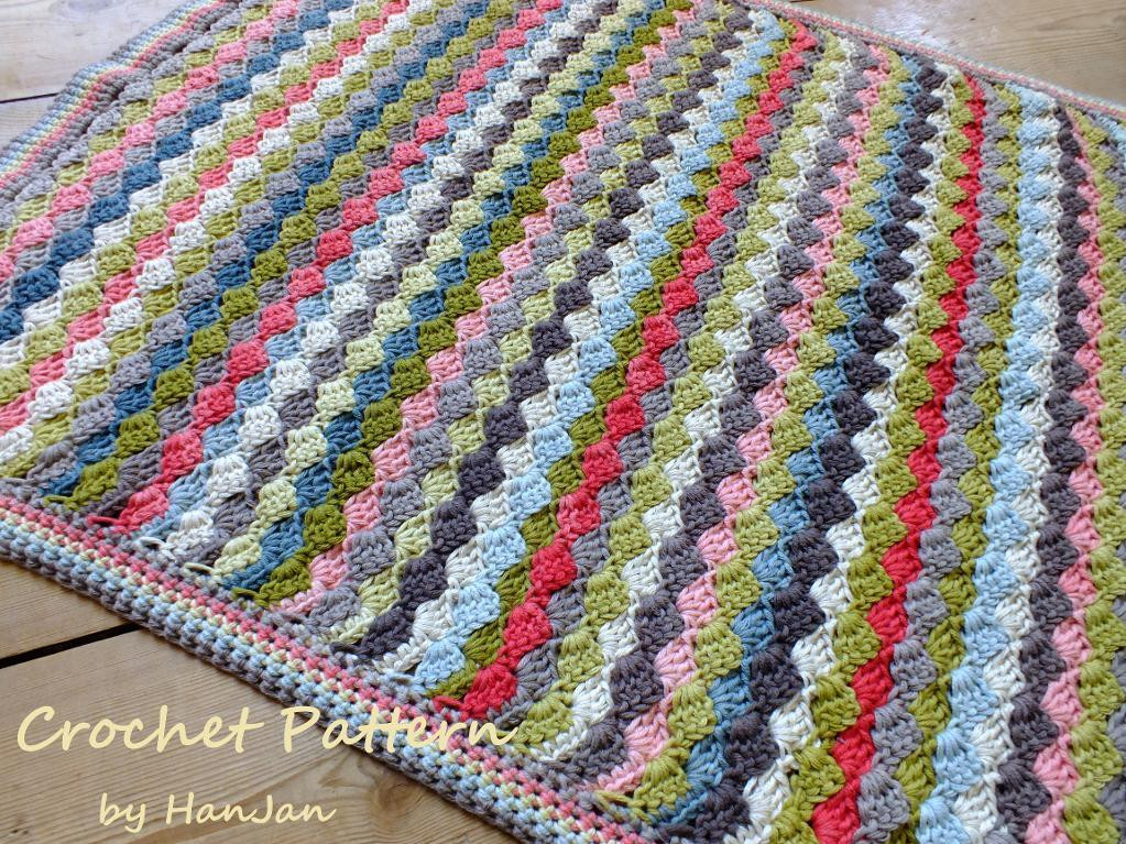 how to crochet blanket patterns