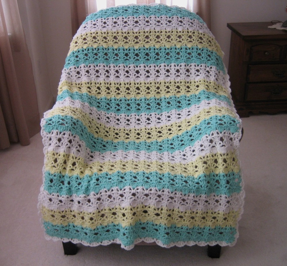 Crochet Throw Patterns New Springtime Lace Easy Crochet Afghan Pattern Of Brilliant 40 Photos Crochet Throw Patterns