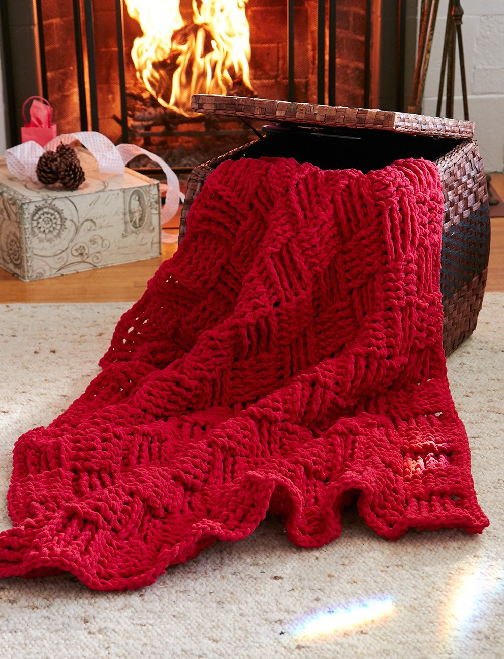 Crochet Throw Patterns Unique Cranberry Basketweave Throw Of Brilliant 40 Photos Crochet Throw Patterns