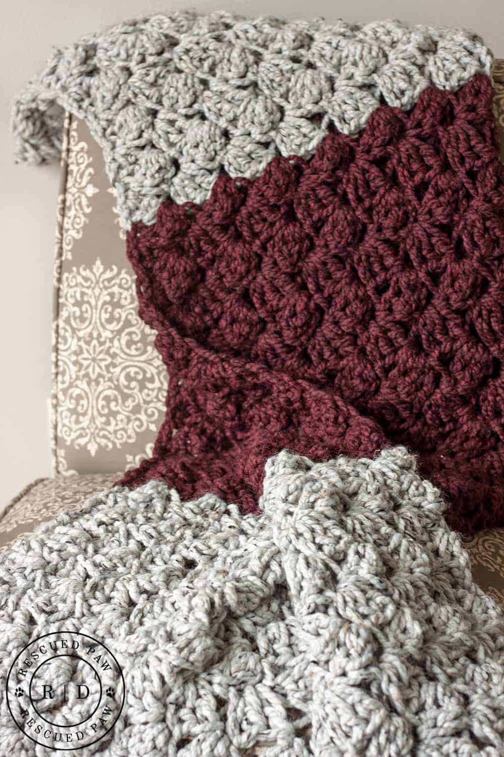 Crochet Throws Patterns Inspirational Charlotte Crochet Blanket ⋆ Rescued Paw Designs Crochet Of Wonderful 44 Images Crochet Throws Patterns
