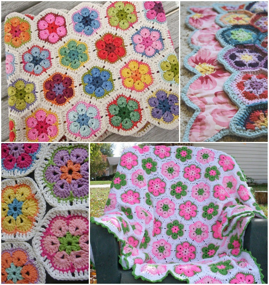 Crochet Throws Patterns Unique Crochet African Flower Blankets Free Pattern and Video Of Wonderful 44 Images Crochet Throws Patterns