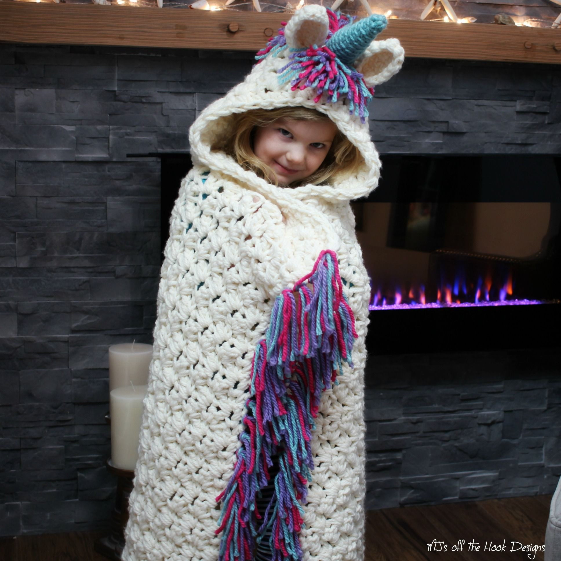 25 Best Crochet Unicorn Blanket For Your Baby mybabydoo