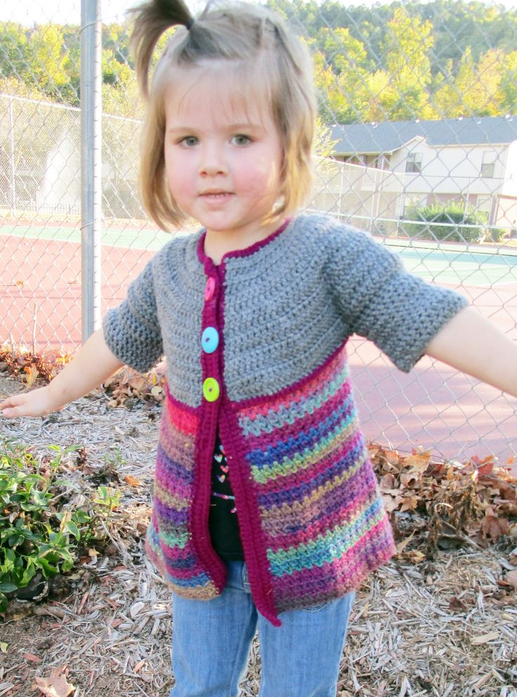 Crochet toddler Sweaters Beautiful Free Crochet Sweater Patterns for toddlers Crochet and Knit Of Attractive 46 Pictures Crochet toddler Sweaters