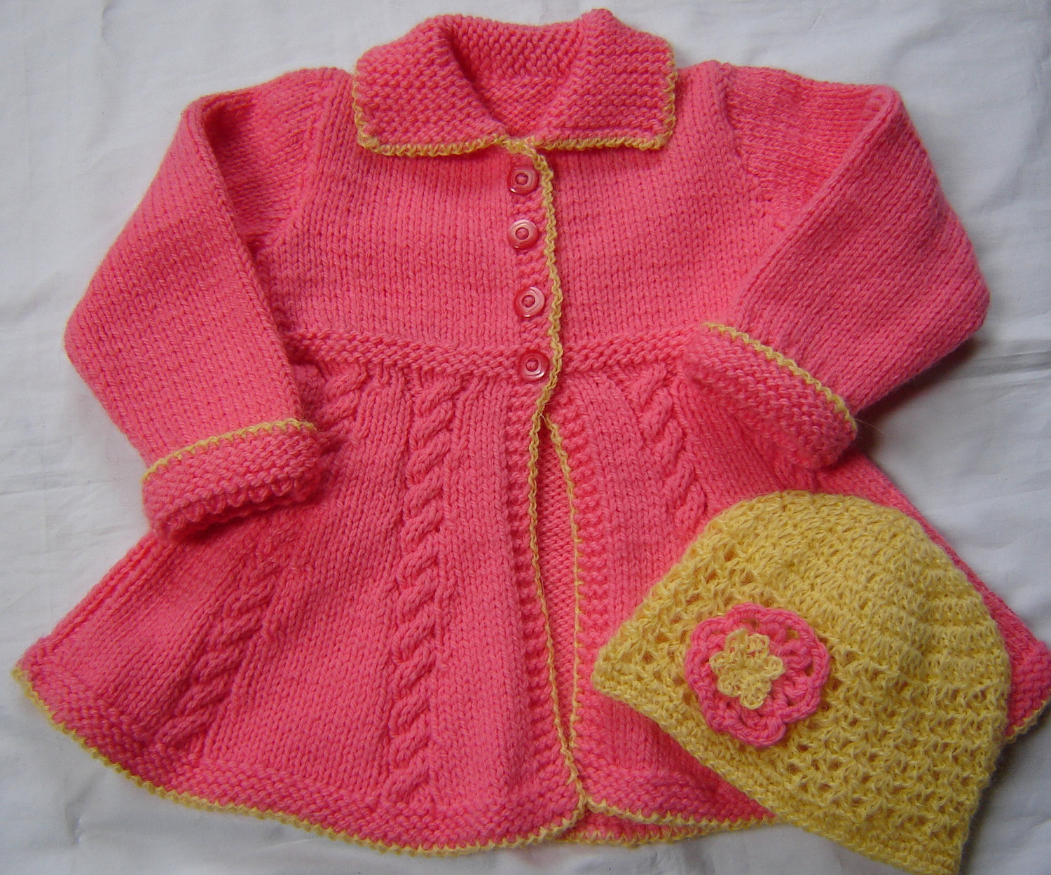 Crochet toddler Sweaters Fresh Baby toddler Girls Swing Sweater Coat and Hat Size 2t Hand Of Attractive 46 Pictures Crochet toddler Sweaters