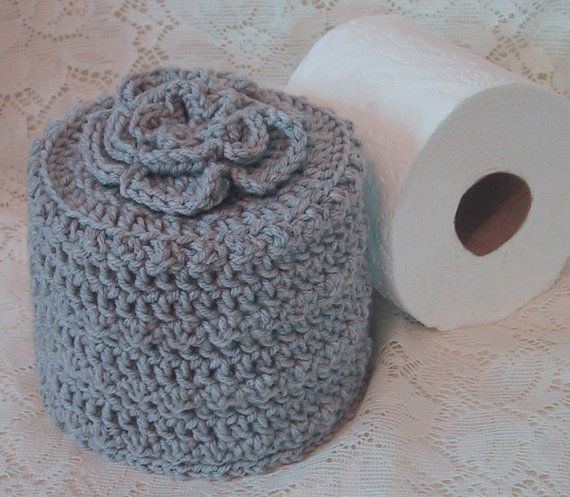 Crochet toilet Paper Cover Inspirational Cover Your Spare toilet Paper Cover W Flower On top Of Attractive 46 Pictures Crochet toilet Paper Cover