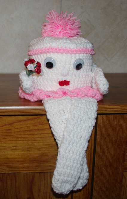 Crochet toilet Paper Cover Lovely Reader Request – Bathroom Tissue Roll Dolls and Cozies Of Attractive 46 Pictures Crochet toilet Paper Cover