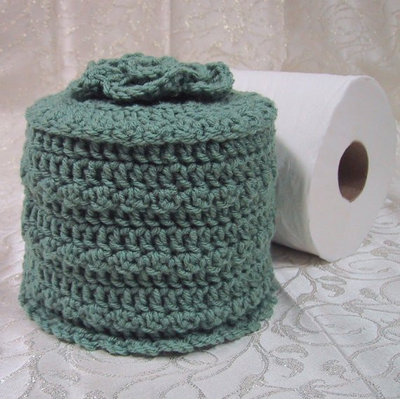Crochet toilet Paper Cover New Clearance Priced 1 2 Off Tp Cozy Cover Your Spare toilet Of Attractive 46 Pictures Crochet toilet Paper Cover