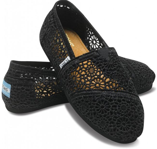 Crochet toms Awesome toms Crochet Black Shoes for Women Of Top 41 Pictures Crochet toms