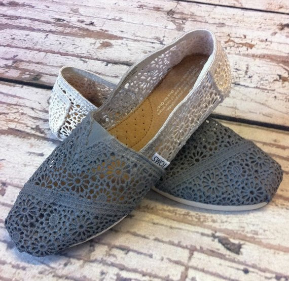 Crochet toms Elegant Items Similar to Custom Crochet Charcoal Ombre toms Shoes Of Top 41 Pictures Crochet toms