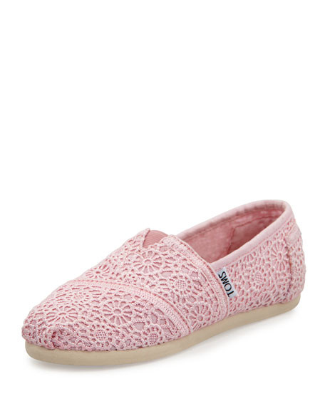 Crochet toms Inspirational toms Crochet Classics Slip Light Pink Youth Of Top 41 Pictures Crochet toms