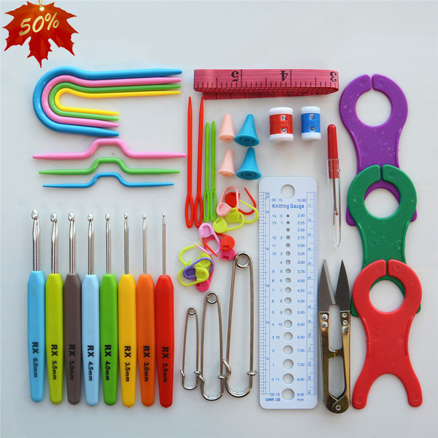 Crochet tools and Supplies Best Of Crochet Hook Set Weave Craft Yarn Sewing Accessories tool Of New 50 Ideas Crochet tools and Supplies