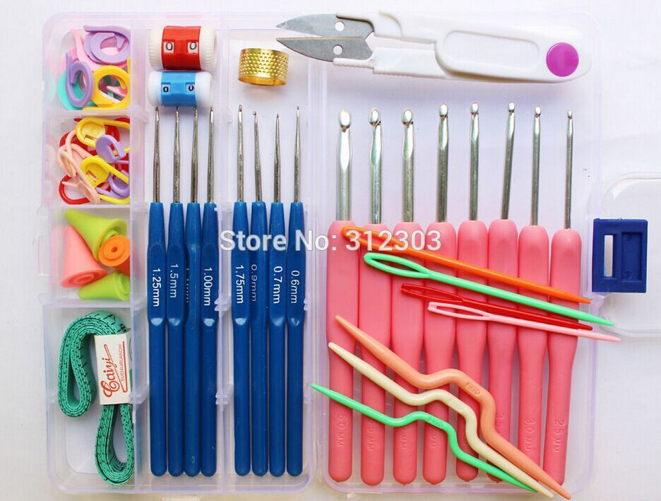 Crochet tools and Supplies Elegant Basic Yarn Sewing Knit tools Set 16 Sizes Colorful Crochet Of New 50 Ideas Crochet tools and Supplies
