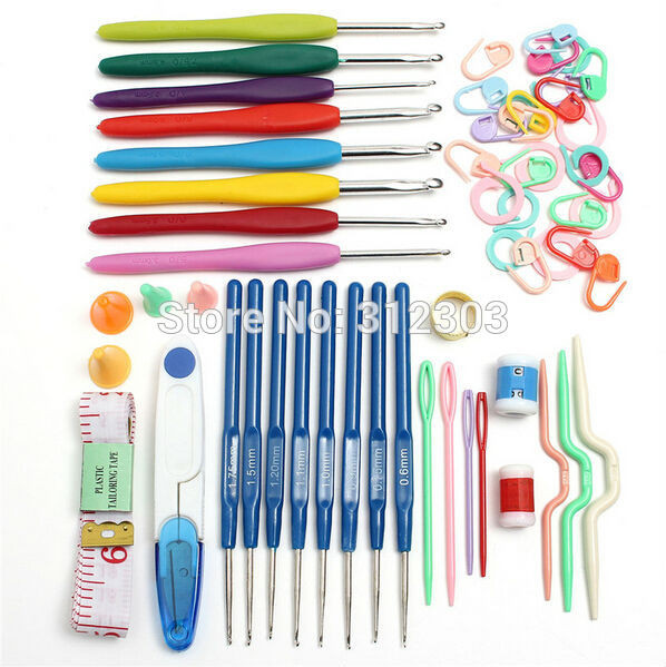 Crochet tools and Supplies Lovely Basic Sewing Knitting Craft Set 16 Sizes Crochet Hooks Of New 50 Ideas Crochet tools and Supplies