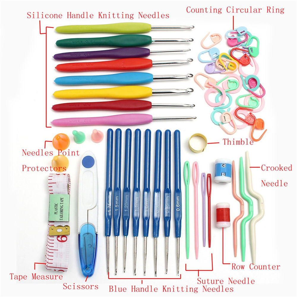 Crochet tools Elegant Knitting tools Crochet Needle Hook Accessories Supplies Of Contemporary 49 Images Crochet tools