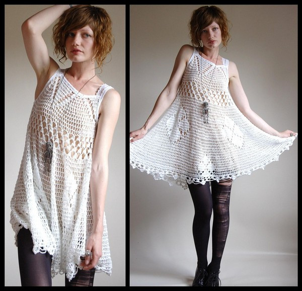 Crochet top Dress Awesome Crochet Summer Dress 16 Of Incredible 41 Models Crochet top Dress