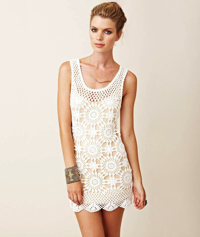 Crochet top Dress Inspirational Beach Dress Pattern Crochet Tunic Pattern Beach Of Incredible 41 Models Crochet top Dress