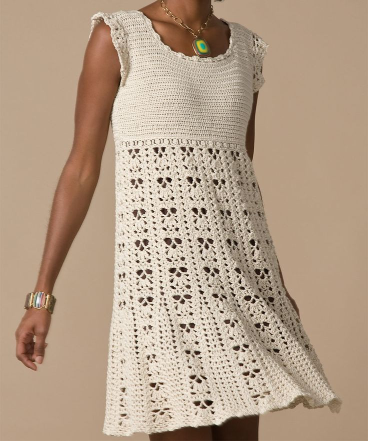 17 Best ideas about Crochet Dress Patterns on Pinterest