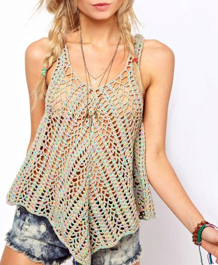 Crochet top Pattern New Crochet top Pattern Detailed Instructions In English for Of Delightful 43 Pics Crochet top Pattern