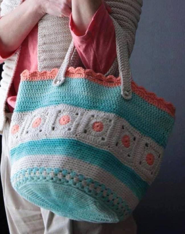 Crochet tote Bag Awesome 50 Crochet Bag Patterns Of Incredible 48 Pics Crochet tote Bag