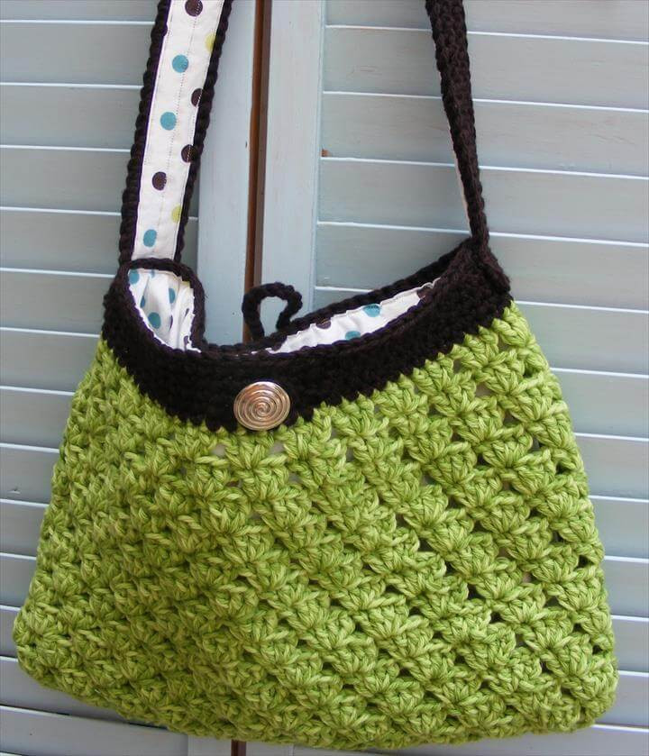 Crochet tote Bag Awesome 50 Diy Crochet Purse tote & Bag Patterns Of Incredible 48 Pics Crochet tote Bag