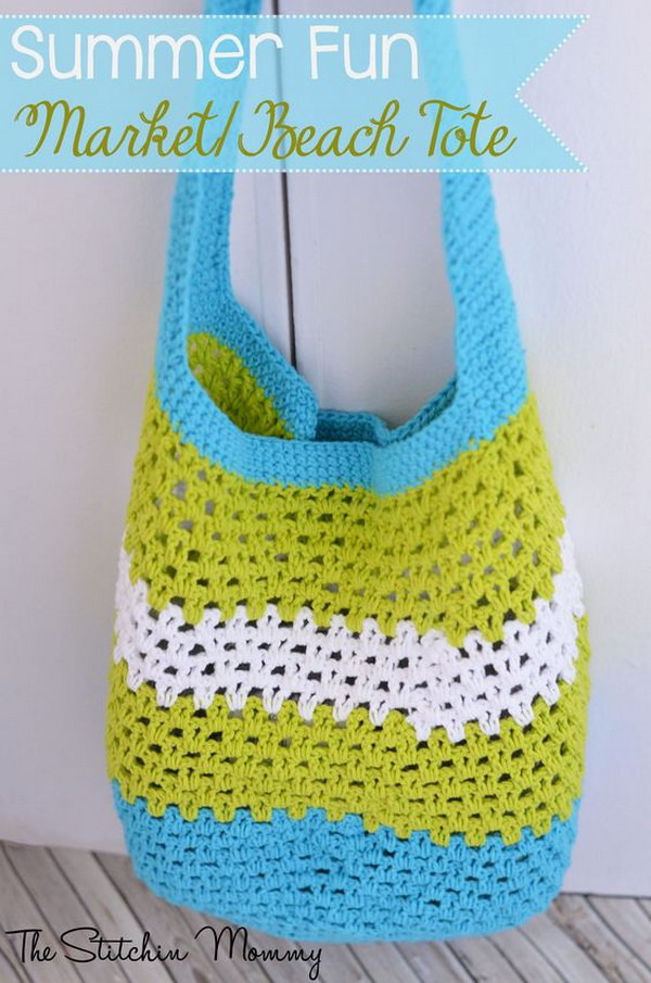 Crochet tote Bag Best Of 30 Easy Crochet Projects with Free Patterns for Beginners Of Incredible 48 Pics Crochet tote Bag
