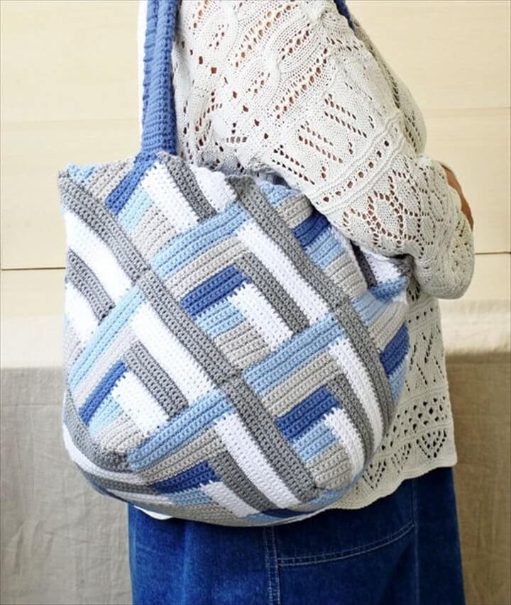 Crochet tote Bag Best Of 30 Easy Crochet tote Bag Patterns Of Incredible 48 Pics Crochet tote Bag
