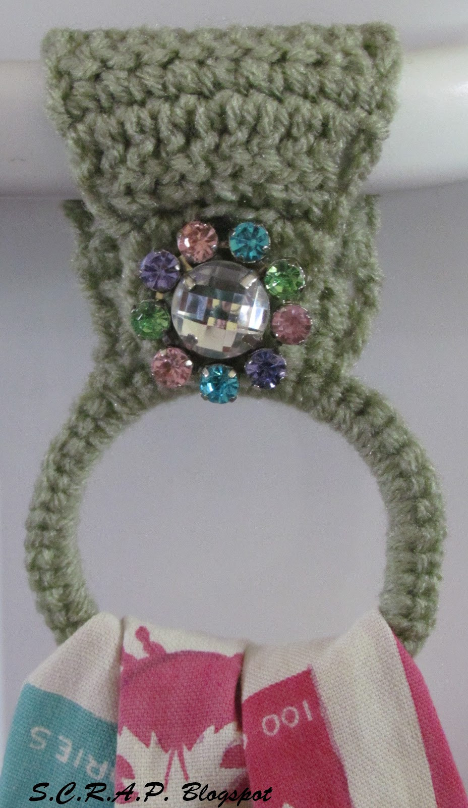 Crochet towel Ring Awesome S C R A P Scraps Creatively Reused and Recycled Art Of Gorgeous 46 Photos Crochet towel Ring