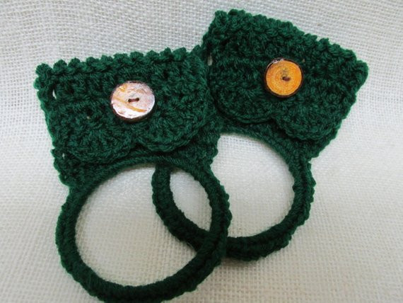 Crochet towel Ring Elegant Set Of 2 Crochet Kitchen towel Ring Bath towel Ring Holder Of Gorgeous 46 Photos Crochet towel Ring
