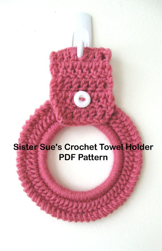 Crochet towel Ring Fresh Pdf Pattern File Only for Crochet Kitchen Dish towel Of Gorgeous 46 Photos Crochet towel Ring
