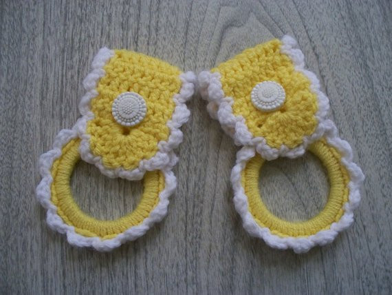 Crochet towel Ring Luxury towel Rings towel topper towel Holder Crochet towel top Of Gorgeous 46 Photos Crochet towel Ring