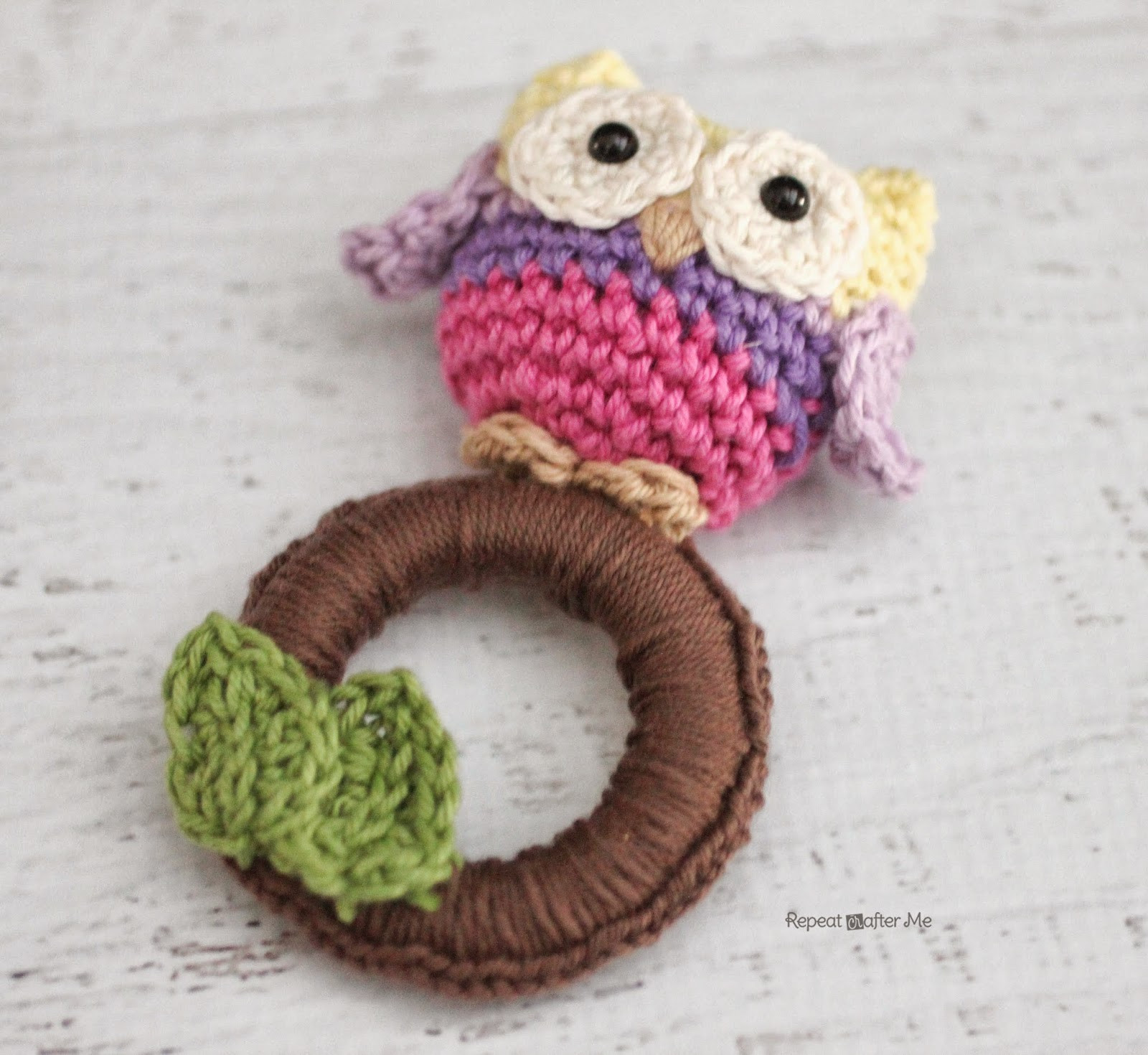 Crochet toy Patterns Inspirational Repeat Crafter Me Crochet Owl Ring Baby toy Of Perfect 45 Pics Crochet toy Patterns