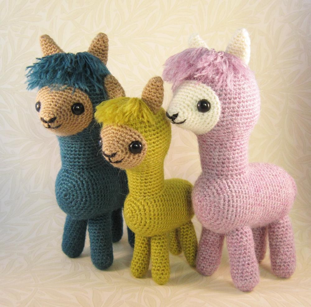 Crochet toy Patterns New Alpaca Family Amigurumi Crochet Pattern by Lucy Collin Of Perfect 45 Pics Crochet toy Patterns