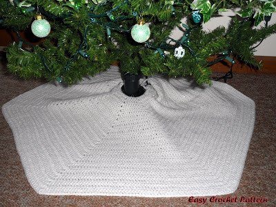 Crochet Tree Skirt Pattern Unique Easy Crochet Pattern Crocheted Christmas Afghans and Tree Of Beautiful 50 Ideas Crochet Tree Skirt Pattern