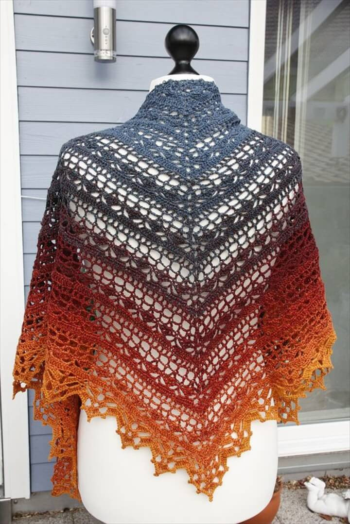 Crochet Triangle Shawl Elegant 25 Diy Crochet Shawl Patterns Of Brilliant 46 Pictures Crochet Triangle Shawl