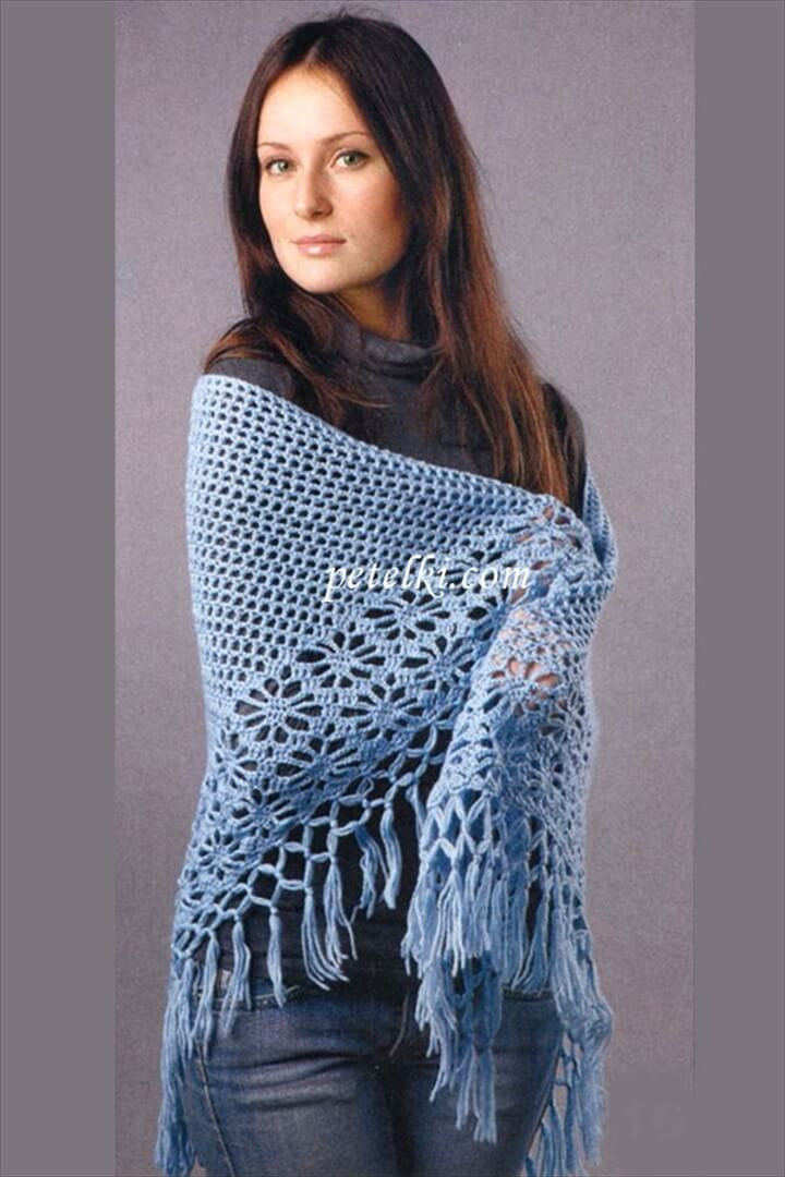 25 DIY Crochet Shawl Patterns