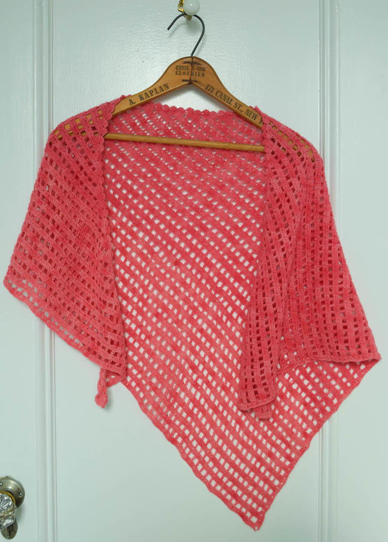 Crochet Triangle Shawl Lovely Checkerboard Lace Shawl Of Brilliant 46 Pictures Crochet Triangle Shawl