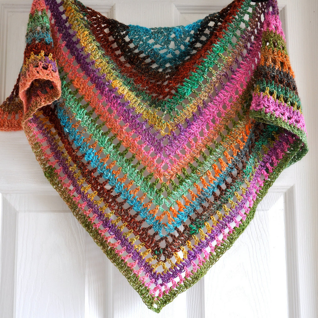 Crochet Triangle Shawl Lovely Triangular Crochet Shawl In Gypsy Style Made to order Of Brilliant 46 Pictures Crochet Triangle Shawl