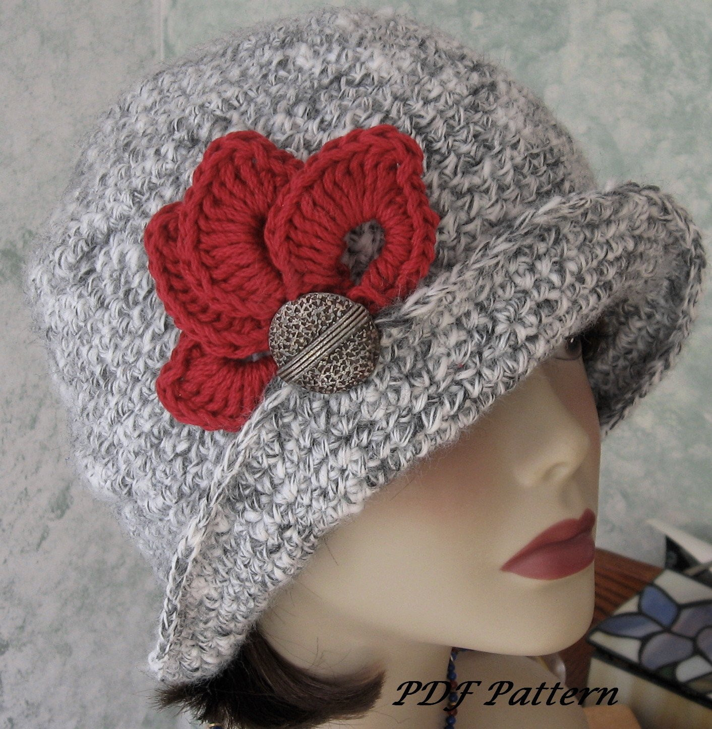 Crochet Trimming Lovely Crochet Hat Pattern Flapper Style with Brim Petal Trim and Of Charming 50 Pics Crochet Trimming