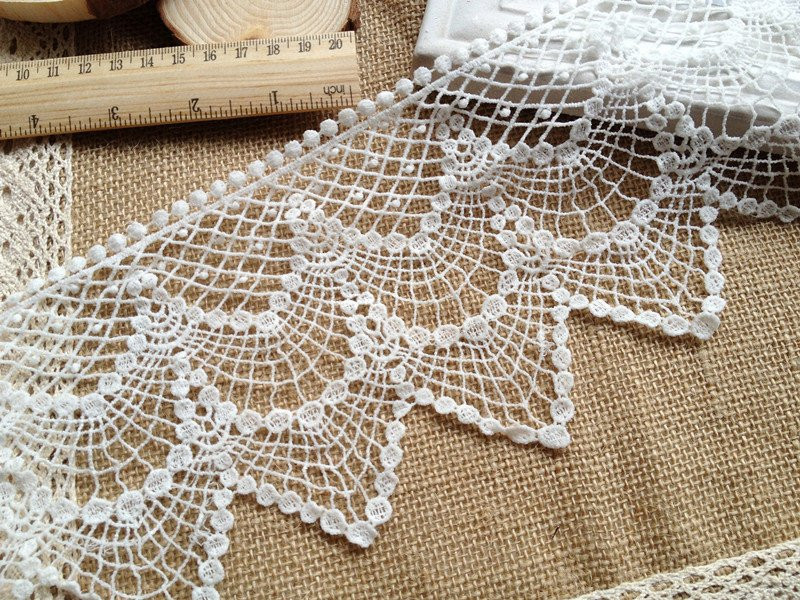 Crochet Trimming New Cotton Lace Trim Vintage Crochet Lace White Hollowed Out Lace Of Charming 50 Pics Crochet Trimming