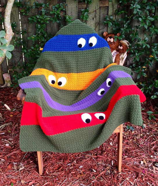 Crochet Turtle Blanket Pattern Awesome Crochet Ninja Turtle Patterns Of Brilliant 42 Pics Crochet Turtle Blanket Pattern