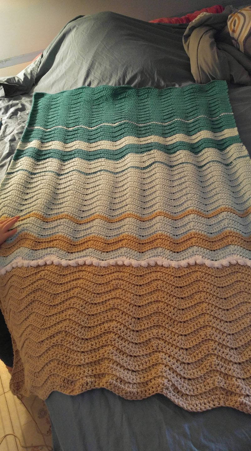 Sea Turtle Crochet Blanket Blanket Pattern ly
